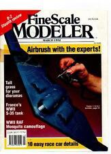 FINE SCALE MODELER MAGAZINE - March 1992