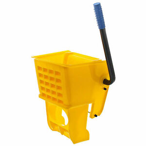 Wet Mop Bucket Replacement Wringer Yellow 36 Quart