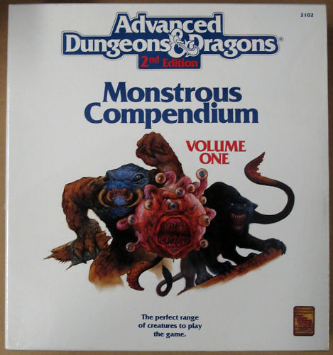 Dungeons & Dragons Monstrous Compendium Volume One 2102