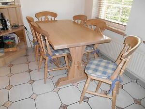 JOHN-LEWIS-OF-HUNGERFORD-KITCHEN-FARMHOUSE-REFECTORY-TABLE-amp-6-FIDDLEBACK-CHAIRS