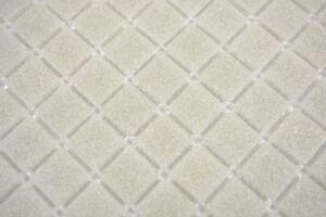 Mosaïque carreau verre gris clair cuisine bain mur piscine 200-A05 ...