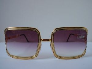 NEW Chloe 79S Gold Sunglasses with Purple Fade Lens eBay