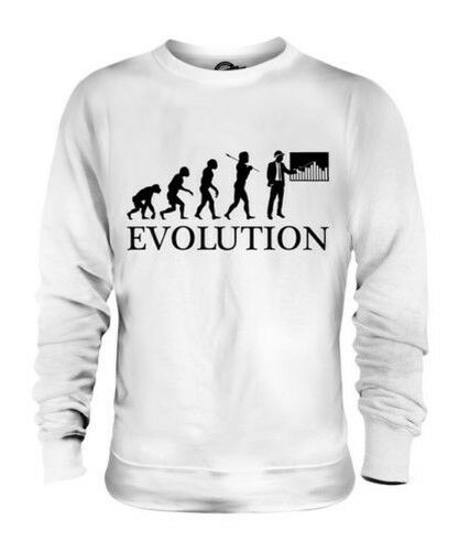 Construction Mánager Evolution Of Man Unisex Suéter Regalo Hombre Mujer