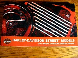 2017-Harley-Davidson-Street-XG500-XG750-Owner-039-s-Owners-Manual-NEW
