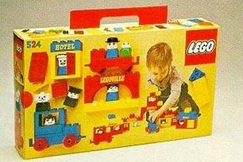 VINTAGE LEGO DUPLO TOWN OR LEGOVILLE 082-1 OR 524-1 COMPLETE 1976 RARE NO BOX
