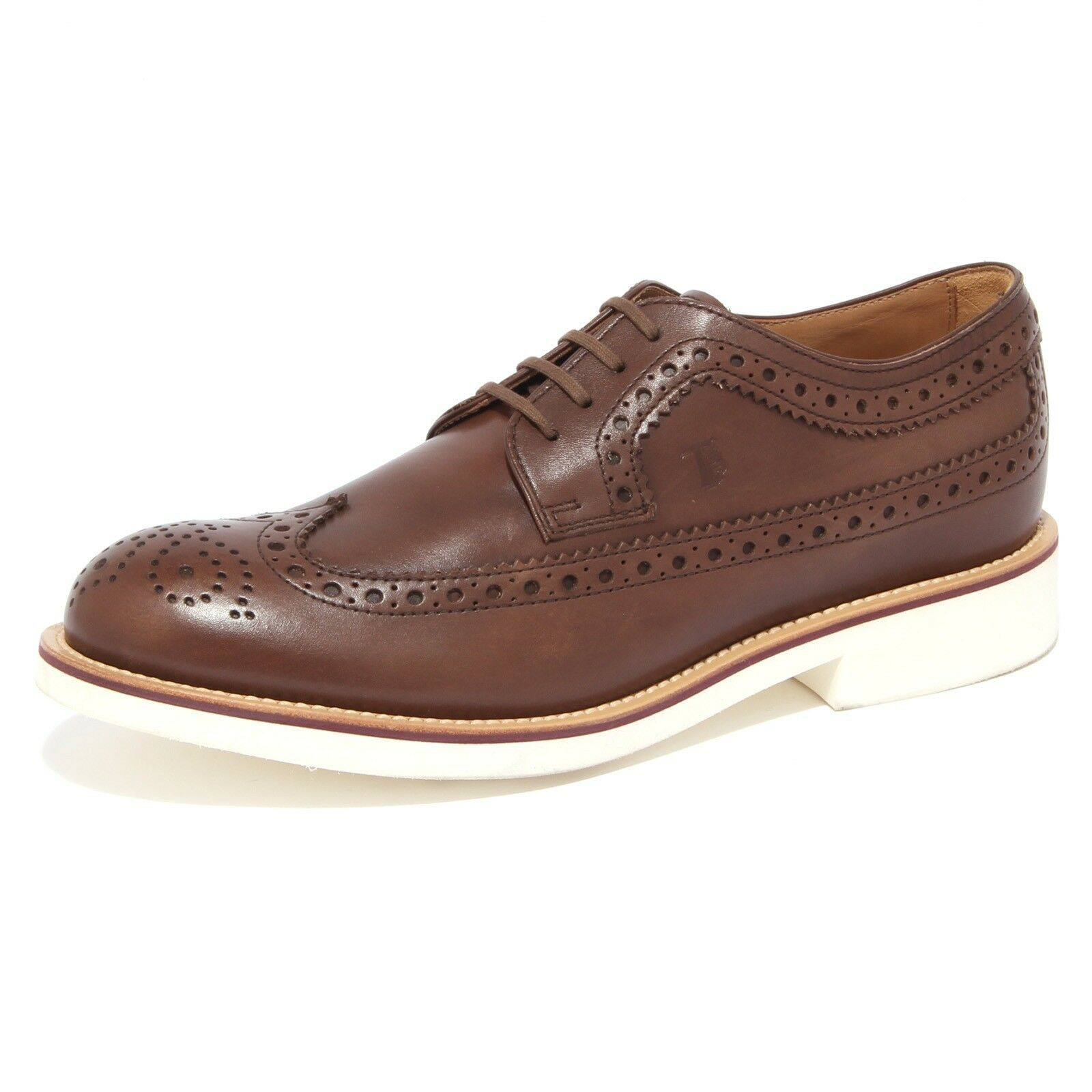 4423Q scarpe scarpa classica inglese TOD'S scarpe 4423Q marrone shoes men 90e9bb