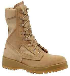 Belleville-390DES-Hot-Weather-Military-Tan-Combat-Boots-3R-3-REGULAR-RARE-SIZE