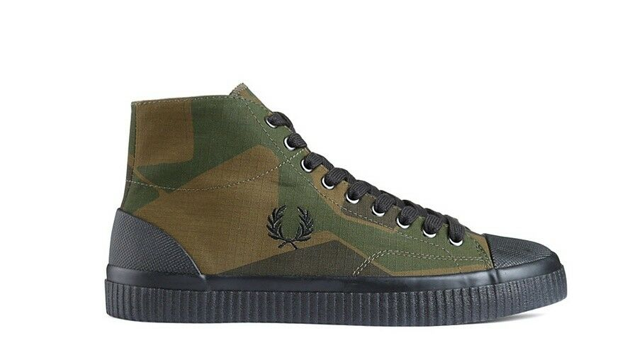 FRED PERRY  Printed Hughes Mid G56 G56 G56 SFPM1834138 CAMO 982ffe