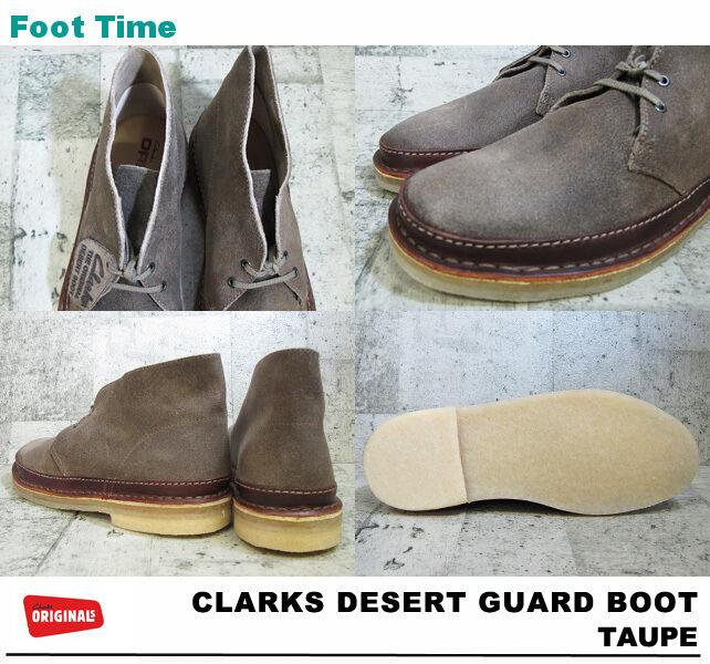 Clarks Original Herren Wüstenstiefel Schutz Taupe Wildleder 8,9, 10 F