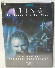 NEW STING DVD THE BRAND NEW DAY TOUR LIVE FROM UNIVERSAL AMPHITHEATRE SEALED