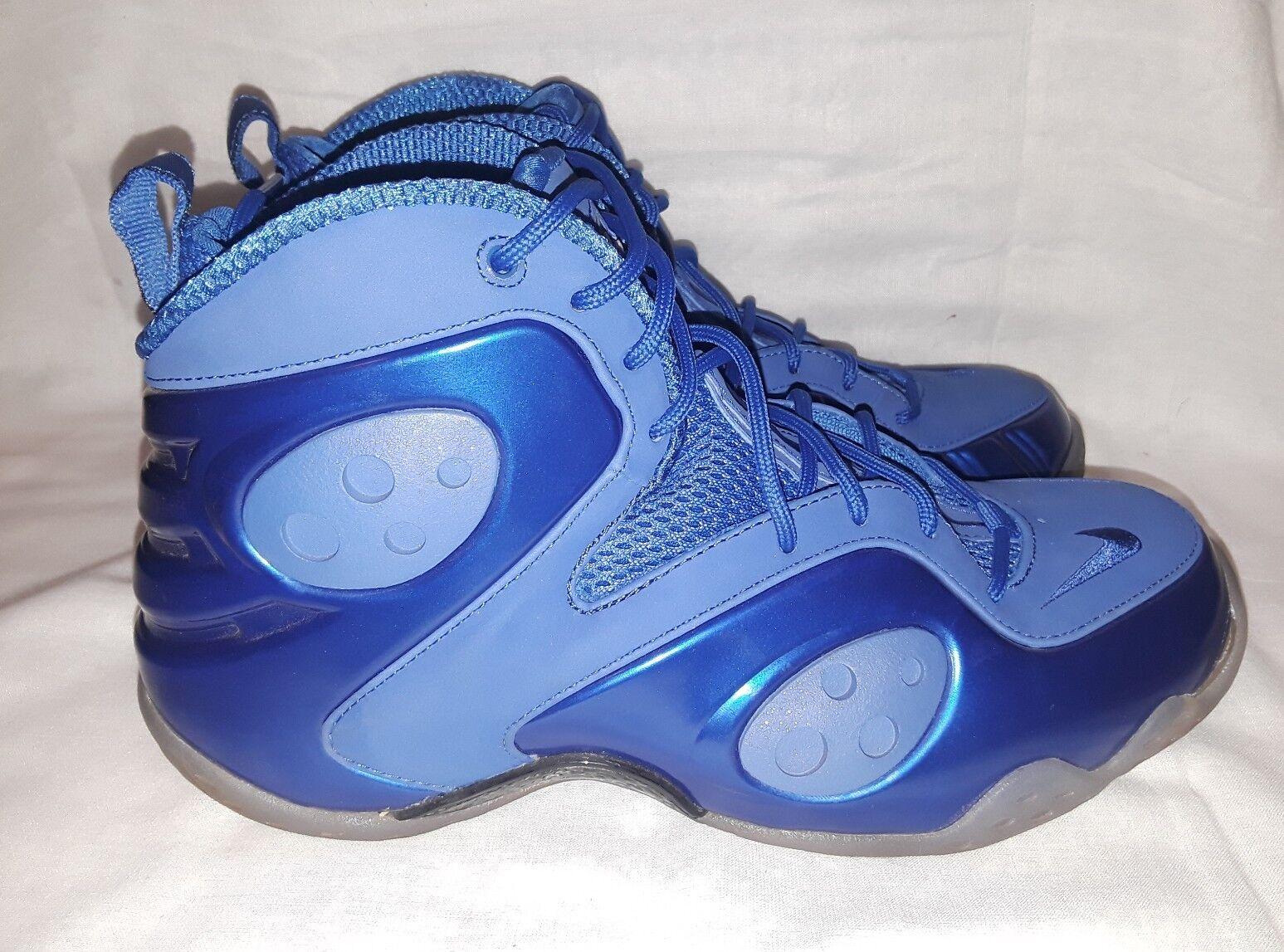 Nike Zoom Rookie LWP Penny Foamposite Memphis bluee shoes 9