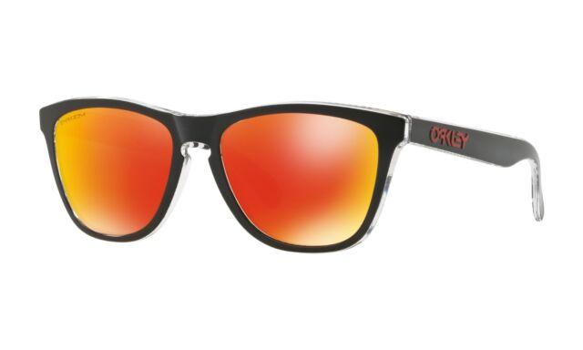 d3c0cb5aaf Oo9013-d5 55 Oakley Sunglasses Frogskins Tokyo Black Prizm Ruby for ...