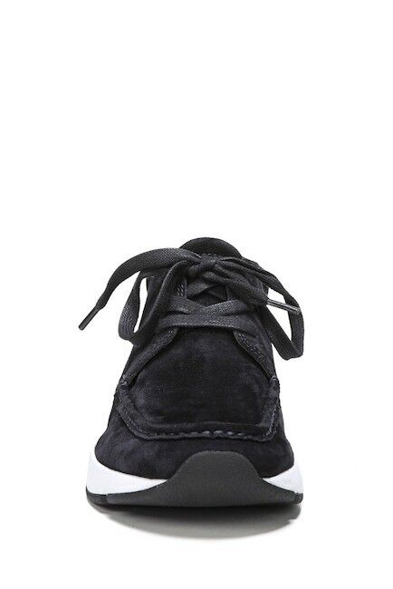 Vince  Woman's Tgoldnto Tgoldnto Tgoldnto Chukka Sneaker Suede Sz 7  Black 1db0bc
