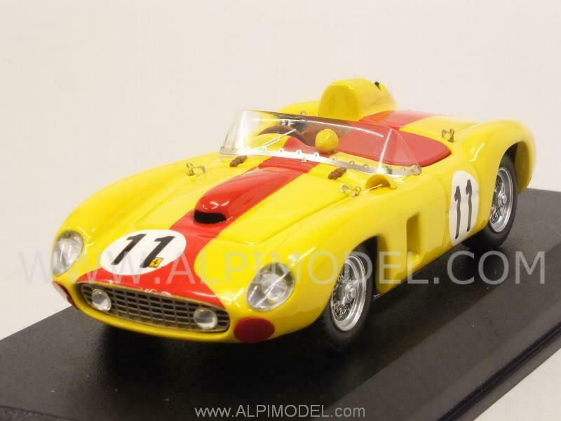 Ferrari 290 MM Le Mans 1957 Swaters-Cangy 1 43 ART 063-2