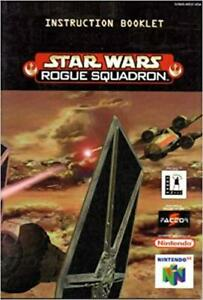 Star Wars Rogue Squadron - Authentic Nintendo 64 (N64) Manual
