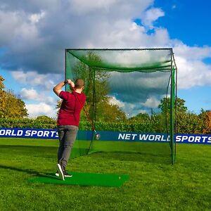 Freestanding Golf Cage - Home Driving Range Net & Poles ...