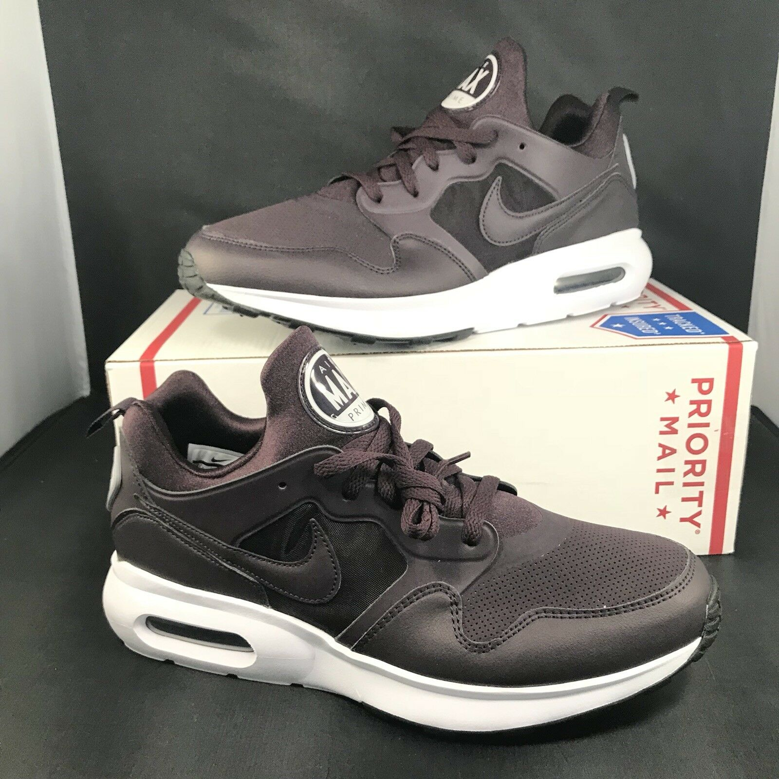 Nike Air Max Prime SL Mens Running shoes 12 Port Wine 876069 600