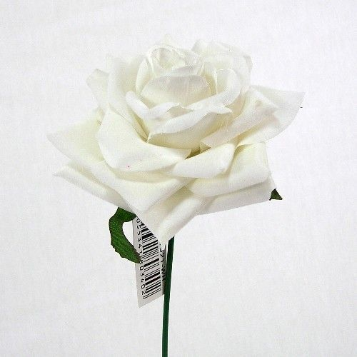 Many Colours 10 x Artificial Curved Single Rose For Weddings//Crafts//Decor
