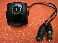 Mini Covert Vehicle Security / Police Car Dash Camera 12 Volt, NTSC, ROHS, 1.5""