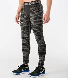 744798 Nike S Sz Men's Pro 045 gray Hyperwarm Black 888409413450 Compression Long Tights w8Swrqx