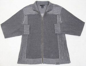 e7085a176ae Calvin Klein Jeans Sweater Gray Solid Long Sleeve Cotton Large Men ...