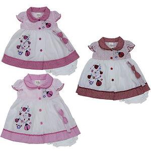 Newborn Infant Baby Girl Dress 3 Piece Set Clothing Size 3 6 9 12 18