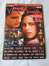 ICONS Vampire Chronicle Magazin 01/2012 Twilight Breaking Dawn Robert Pattinson