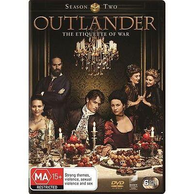 Outlander : Season 2 - (DVD, 2016, 6-Disc Set) Brand New Sealed Region 4