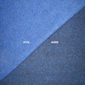 1-Meter-Mantelwolle-Woll-Stoff-Doppel-Gewebe-Wolltuch-ROYAL-MARINE-Walk-Wolle