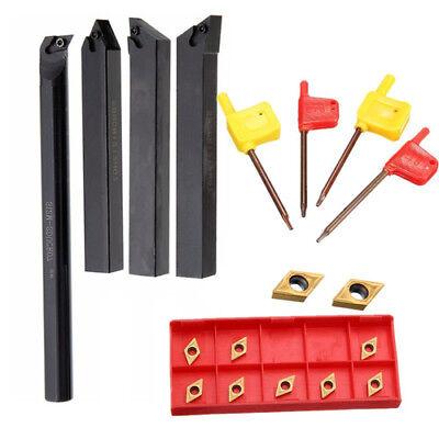 10x DCMT0702 Wendeplatten SDJCR1212H07 Bohrstange Drehmeißel Wendeplattenhalter
