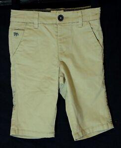 Ragazzi-Jasper-Conran-Beige-Chino-Denim-Vita-Regolabile-SMART-Pantaloncini-Eta-4-anni