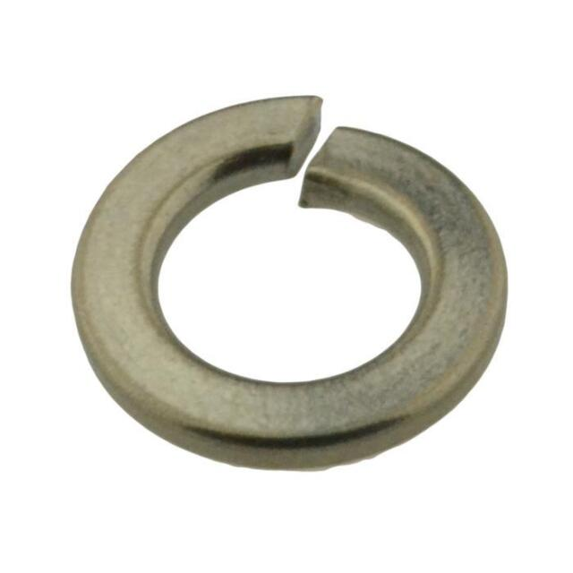 Qty 2 Spring Washer M3 (3mm) Metric Stainless Steel Single Coil SS 304 A2