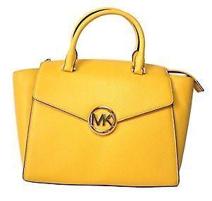 Michael Kors Bag MK 35H4GHUS3L Hudson Large Satchel Citrus Agsbeagle tmm