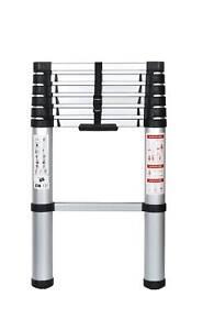 echelle telescopique securite aluminium 2 61m neuf pro. Black Bedroom Furniture Sets. Home Design Ideas