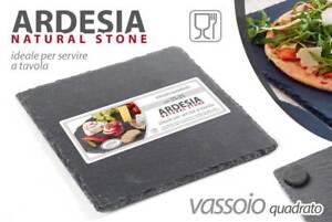 Piatti Cucina In Ardesia : Piatto ardesia quadrato cm vassoio pizza sushi