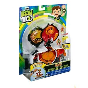 Ben 10 Micro Heatblast Playset 2-IN-1 Omnitrix CN Playmates Toy NEW