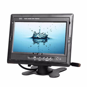 Car-7-inch-Monitor-2-channel-Video-Input-for-rear-view-camera-TM-7003A-screen