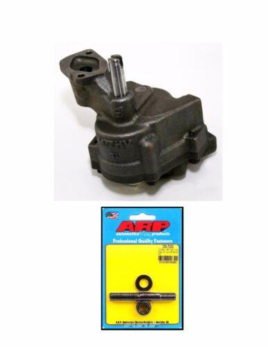 Melling M77HV BBC Chevy Oil Pump High Vol ARP 230-7003 HP Oil Pump Stud 396 454