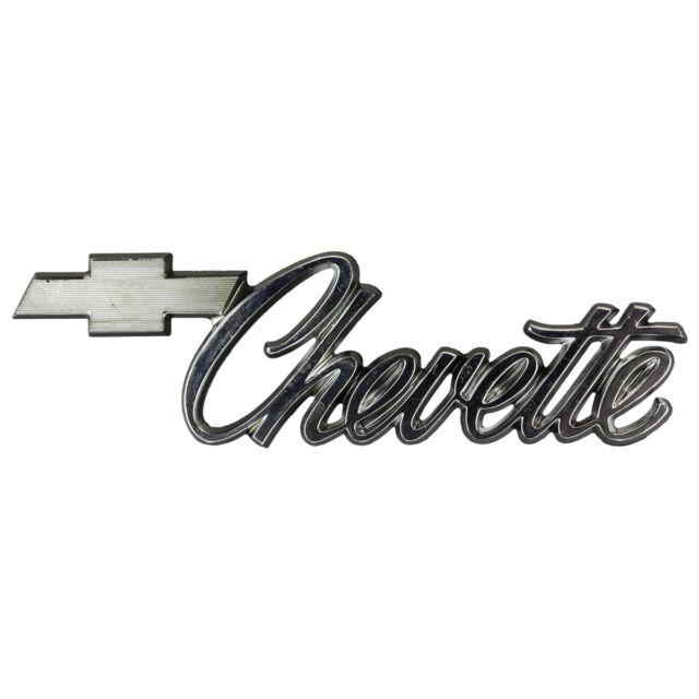 Chevrolet Chevy Chevette Script Emblem P367888 Ebay