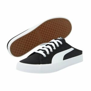 Details about PUMA Bari Mule Slip On - Black / White - 371318-01 / 37131801 / Sneakers Shoes