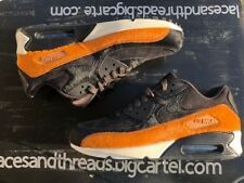 WMNS Nike Air Max 90 LX Tar Brown black cider Sz 5 898512