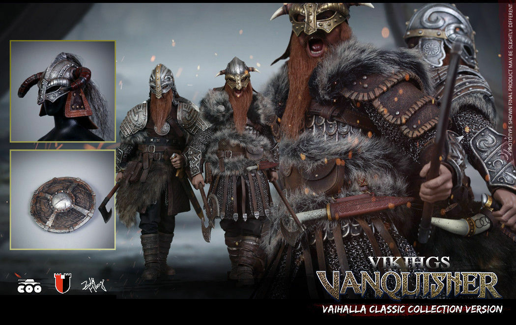 COOMODEL 1 6 SE019 Viking Vanquisher Valhalla Figure Model Collection Set