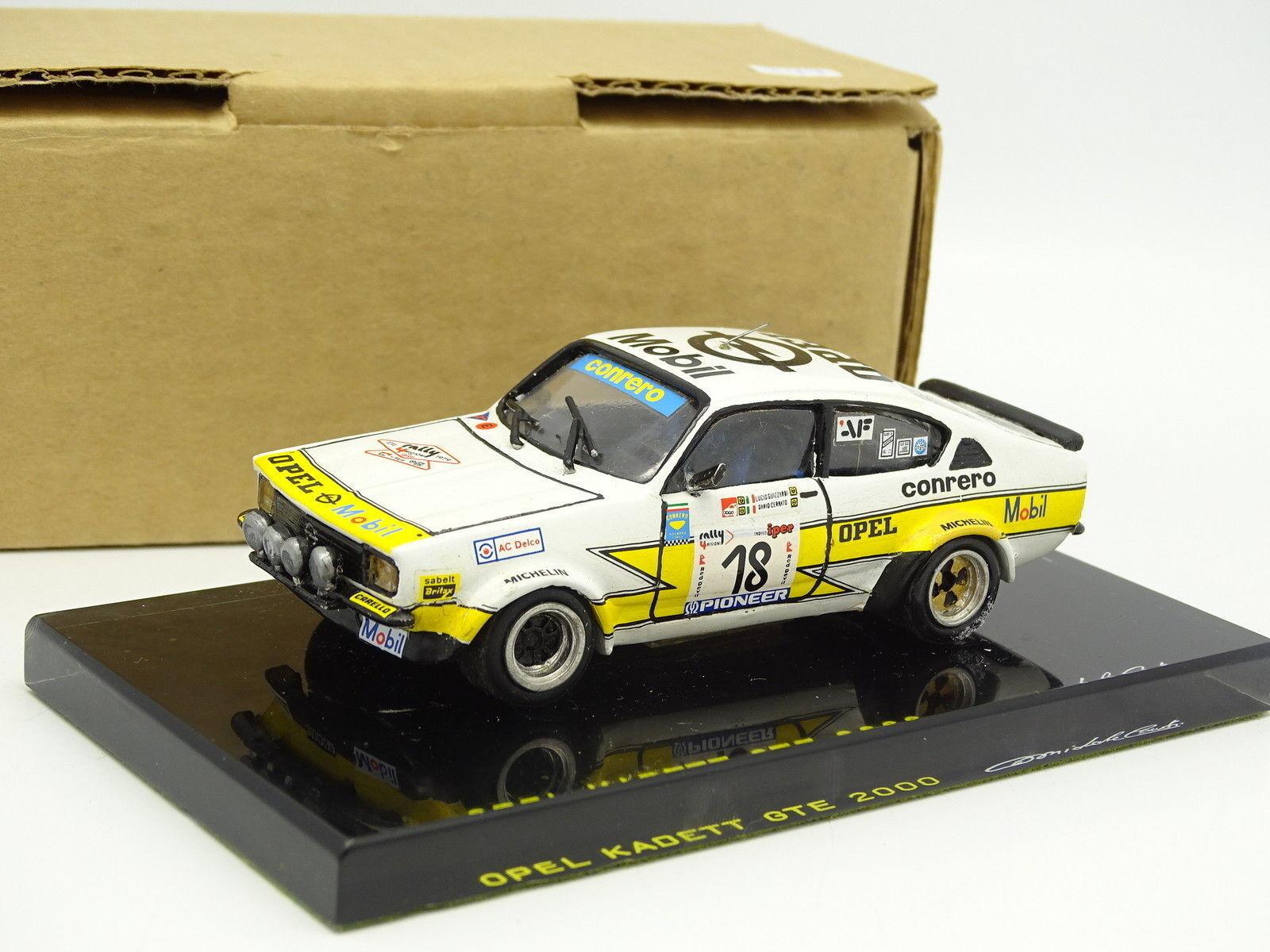 Conti Modelos Kit Montado 1 43 Opel Kadett GTE Nº18 Rally 4 Regioni Italia 1979