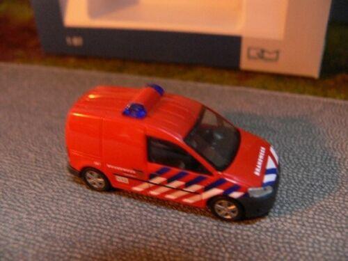NL 52905 1//87 Rietze VW Caddy 11 Kasten Brandweer Amersfoort