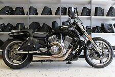 Harley V-ROD MUSCLE RIGHT Side BLACK SOLO BAG Saddlebag - VRR02 BAD&G CustomS
