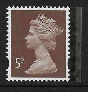 GB-2015-U3072c-5p-Dull-Brown-Red-M15L-MPIL-Great-War-booklet-stamp-MNH-ex-U3012c