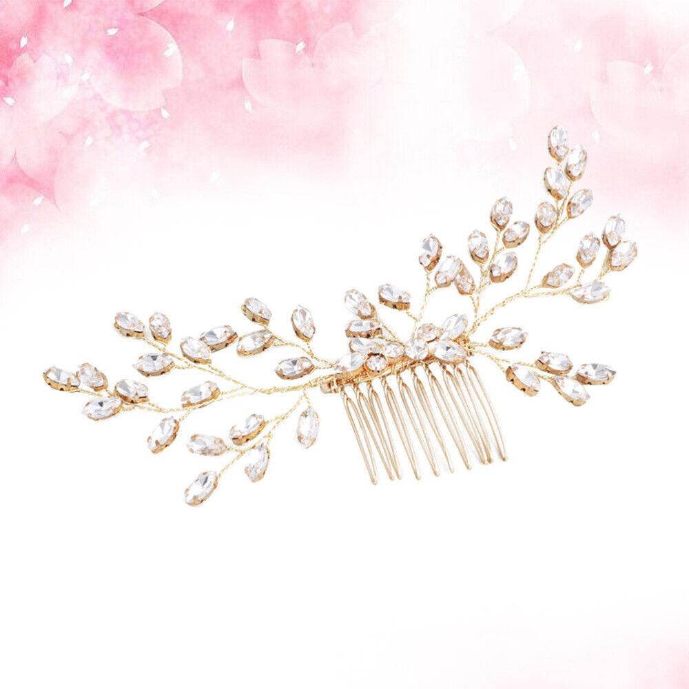 1 stück Bridal Brautjungfer Braut Kopfschmuck Haarkamm Mädchen Headwear für