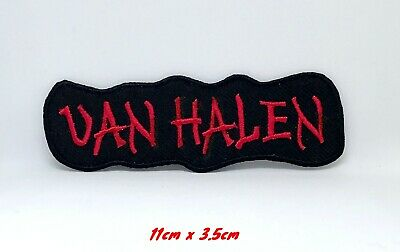 Van Halen Punk Rock Metal Music Iron Sew On Embroidered Logo Patch #885