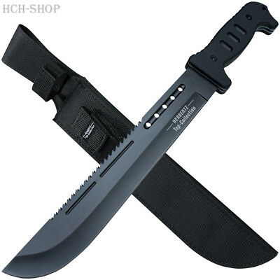 Industrioso Herbertz Machete Giardino Manico Sega Schiena Top Collection Incl. Fodero In Nylon-