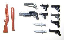Brickarms - Pack Guerra Callejera/Street War - Armas para LEGO, Mega Bloks